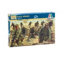 Italeri - Set figurine infanterie DAK 1:72