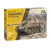 Italeri 6564 - 1:35 Sd.Kfz.173 JAGDPANTHER with winter crew