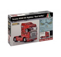 """Italeri 3882 - 1:24 SCANIA R560 V8 HIGHLINE """"RED GRIFFIN"""""""