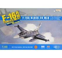 Kinetic 48036 - Kit macheta avion F-16A MLU Block 20 1:48