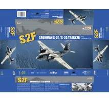 Kinetic 48024 - Grumman S-2E/S-2G Tracker 1:48