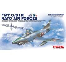 MENG DS-004S - 1:72 Fiat G.91R Nato Air Forces