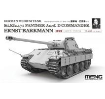 MENG ES-003 - 1:35 German Panther Ausf.D Commander Ernst Barkmann