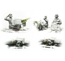 MENG - 1:35 Russian Armed Forces Tank Crew