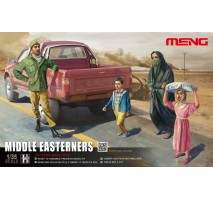 MENG - Figurine set MIDDLE EASTERNERS 1:35