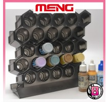 MENG MTS-043 - Modular Acrylic Paint Rack - Base Set