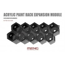 MENG MTS-043A - Modular Acrylic Paint Rack - Expansion Module