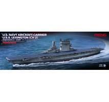 MENG - U.S. Navy Aircraft Carrier U.S.S. Lexington (Cv-2) 1:700