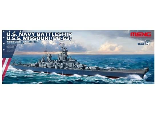 MENG - 1:700 U.S. Navy Battleship U.S.S. Missouri (BB-63)