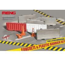 MENG Concrete & plastic barrier set 1:35