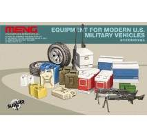 MENG Equipment for modern U.S. military vehicles 1:35