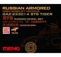 MENG Set roti rasina pentru vehiculul blindat Gaz-233014 Sts Tiger 1:35