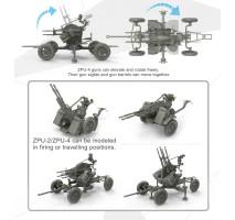 MENG - Russian Anti-Aircraft Gun set 1:35