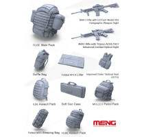 MENG - Modern U.S. Marines Individual Load-Carrying Equipment 1:35