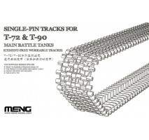 MENG - Set Senile tanc Single-Pin T-72 & T-90 1:35