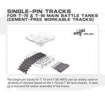 MENG - Set Senile tanc Single-Pin T-72 & T-90 1:35