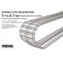 MENG - Set senile tanc Double-pin T-72 & T-90 1:35