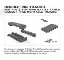 MENG - Set senile tanc Double-pin T-72 & T-90 1:35