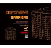 MENG Defensive Barriers (Resin) 1:35