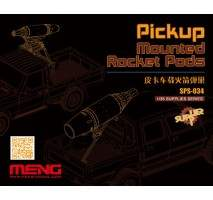 MENG - Pickup Mounted Rocket Pods (Resin) 1:35