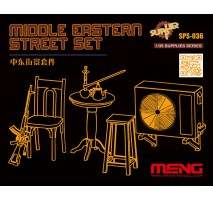 MENG - Middle Eastern Street Set (Resin) 1:35