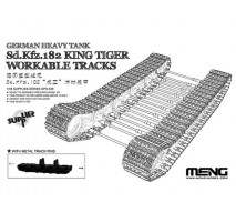 MENG - Set senile tanc Sd.Kfz.182 King Tiger 1:35