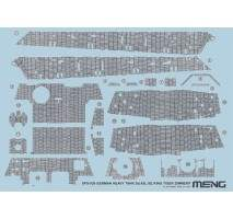 MENG - Accesorii macheta tanc Sd.Kfz.182 King Tiger Zimmerit Decal 1:35
