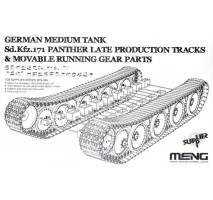 MENG SPS-049 - German Panther A Late Tracks & Suspension 1:35