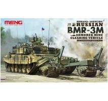 MENG - Russian BMR-3M Armored Mine Cleaning Vehicle 1:35
