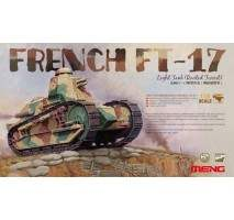 MENG FRENCH FT-17 LIGHT TANK (RIVETED TURRET) 1:35