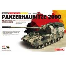 MENG - Macheta artilerie Germana Panzerhaubitze 2000 W/Add-On Armor 1:35