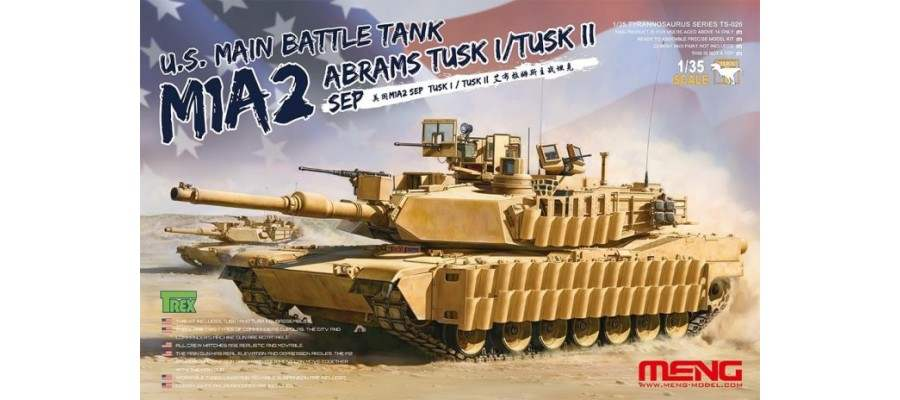 MENG TS026 M1A2 Abrams TUSK Video Promotional