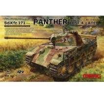 MENG TS-035 German Panther Ausf A Late 1:35