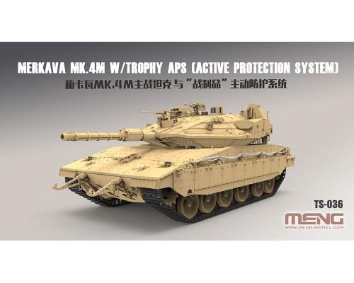 MENG TS-036 - 1:35 Israel Main Battle Tank  Merkava Mk.4M w/Trophy Active Protection