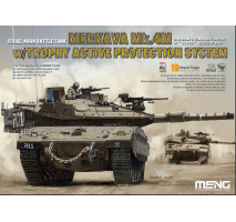 MENG TS-036 - 1:35 Israel Main Battle Tank  Merkava Mk.4M w/Trophy Active Protection