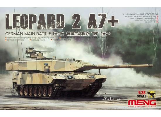 MENG TS-042 - 1:35 German Leopard 2 A7+