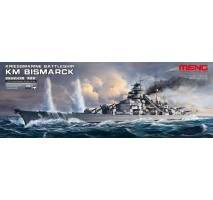 MENG - Kriegsmarine Battleship KM Bismarck 1:700