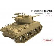 MENG TS-043 - 1:35 U.S. MEDIUM TANK M4A3 76 (W) SHERMAN