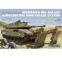 MENG TS-049 - 1:35 Israel Main Battle Tank Merkava Mk.4/4LIC w/Nochri-Kal Mine Roller