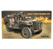 MENG VS-012 - 1:35 MB Willys Jeep WASP Flamethrower