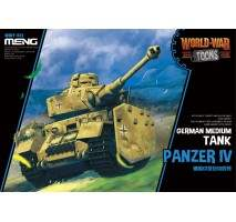 MENG WWT-013 - German Panzer IV Ausf H - snap-fit