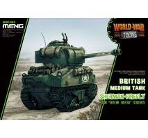 MENG WWT-008 - British Medium Tank Sherman Firefly - snap-fit