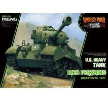 MENG WWT-010 - US Heavy Tank M26 Pershing - snap-fit