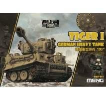 MENG Kids - German Tiger I Heavy Tank World War Toon