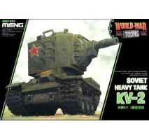 MENG WWT-004 -Soviet Heavy Tank KV-2 - snap-fit