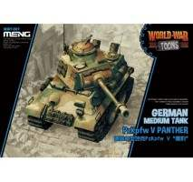 MENG WWT-007 - German Medium Tank PzKpfw V Panther - snap-fit