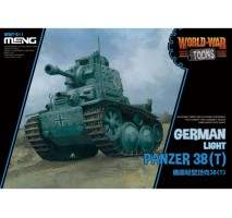 MENG WWT-011 - German Light Panzer 38T - snap-fit
