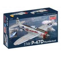 Minicraft 14722 - 1:144 P-47D USAF with 2 marking options