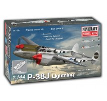 Minicraft 14730 - 1:144 P-38J Lightning with 2 marking options