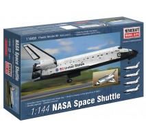 Minicraft 11668 - 1:144 NASA Space Shuttle with decal for Endeavour, Atlantis, Discovery